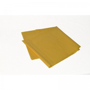 Odpadový pytel 120L 700X1100, 200mi, žlutý, LDPE, 25ks/karton