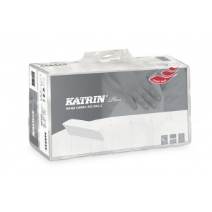 KATRIN PLUS ručníky Z-Z bílé 2V 3150ks 100645 (61649)
