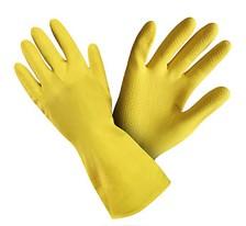 Rukavice úklidové žluté - L