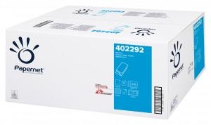 Papernet 402292, papírový ručník 2 vrstvý skládaný,bílý, 3150 ks